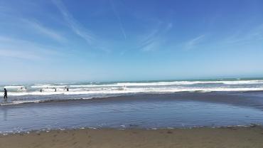 Sumner Beach, Christchurch, NZ
